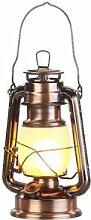 Lunartec Lampe tempête effet flamme, hauteur