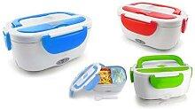 Lunch box chauffante électrique 1 L : Bleu