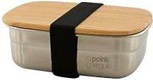 Lunch box inox et bambou 450ml Point Virgule