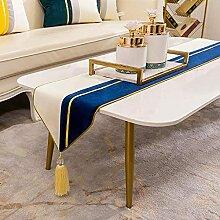 Lunconyine Chemins de table décoratifs de luxe en
