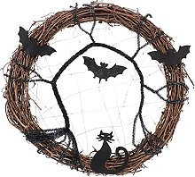 LUOEM Halloween Décoration Guirlande Portes