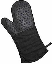 Lurch 70090 Gant de Cuisine Silicone/Textile Noir