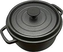 Lurrose Fonte De Fer Casserole Pot Dutch Four Pot