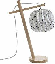 Lussiol 233868 Lampes table et chevet, Bois,