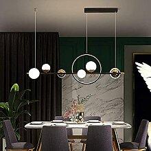 Lustre 66W Lampe à Suspension Moderne LED Salle