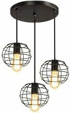 Lustre Abat-jour suspension Vintage plafond Lampe