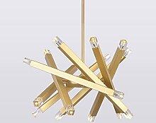 Lustre Branche Rotatif Moderne Restaurant Lampe