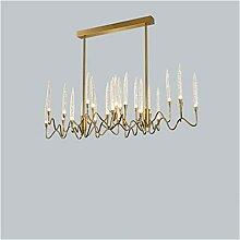 Lustre Cristal lumière luxe moderne éclairage