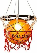 Lustre de basket-ball industriel rétro plafonnier