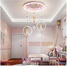 Lustre Décoration chambre fille nordique LED for