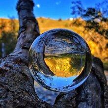 Lustre en cristal K9 lisse, 30mm – 100mm, boule