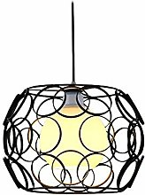 Lustre en fer forgé avec suspension E27 -