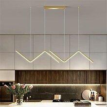 Lustre géométrique de style nordique pour salle