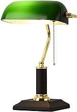 lustre,lampe de banquier,lampe de bureau vintage