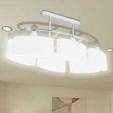Lustre/ Lampe de Plafond Contemporaine 6 Abats
