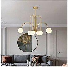 Lustre Lampe LED Lustre Nordic for Salon Salle à