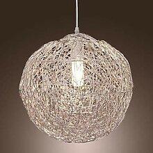 Lustre LCSD Lampe De Rotin Moderne LED Lustre