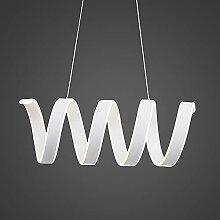 Lustre LCSD Moderne Simple LED en forme de fer