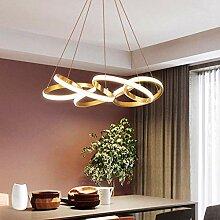 Lustre LED Moderne Lustre Acrylique En Métal