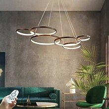 Lustre LED Plafonnier Moderne Dimmable Avec