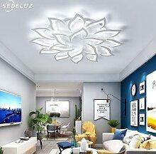 Lustre LED Ventilateur de Plafond Lustre De Luxe