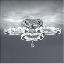 Lustre Moderne LED cristal Lustres