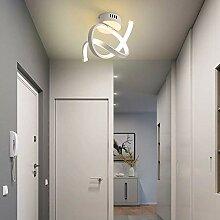 Lustre,plafonnier à LED plafonnier incurvé