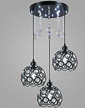 Lustre Plafonnier Lustres en Cristal de Style
