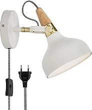 Lustre,Plug in Wall Lamp Holder Applique Murale en