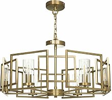 Lustre Suspension 6 lampes, style Moderne, Art