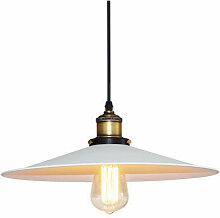 Lustre Suspension Abat-jour Lampe Vintage