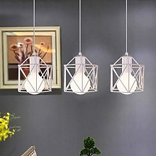 Lustre Suspension Industrielle Design 3 Lampes