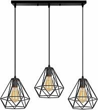 Lustre Suspension Luminaire 3 Lampes Barre