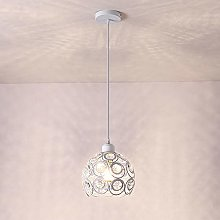 Lustre Suspension Luminaire Moderne Cristal