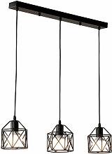 Lustre Suspension Vintage Industrielle E27 Lampe