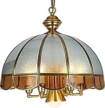 lustre UOMUN Etudier Cuivre Suspendre Lampe