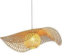 Lustres Modernes En Bambou Lampe À Suspension