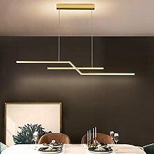 Lustres Table à Manger Longue Bande LED Moderne