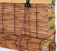 LUWEIL1AN Stores en Bambou Rideau De Roseau Store