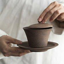 LUWU – tasse à thé gaiwan en céramique,