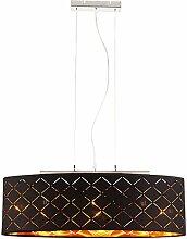 Luxe plafond pendentif lampe salon éclairage