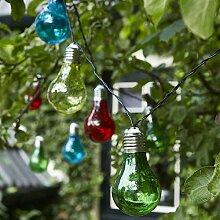 Luxform Guirlande lumineuse à piles 10 ampoules