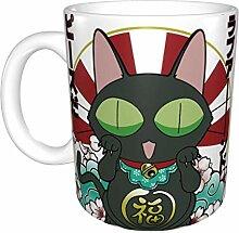 Luy amour et paix Unique drôle tasse à café en