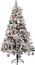 LUYIYI Arbre de Noël artificiel pliant, arbre de