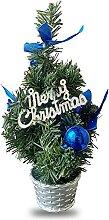 LUYIYI Arbre de sapin de Noël Petit Arbre de