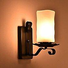 Luyshts Rétro Ancienne Lampe à pétrole en Verre