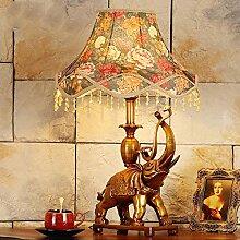 LWX Chambre Luxe Salon Lumière Rétro Étude