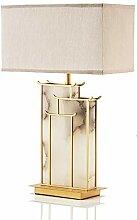 LWX Décoration Créative Lampe De Table en Marbre