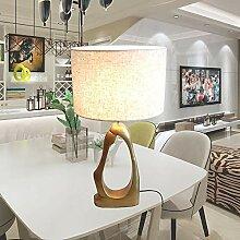 LWX Lampe De Table De Résine Simple/Mode Lampe De