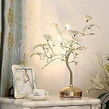 LWX Lampe en Cristal Chambre en Céramique De